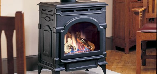 Majestic Oxford Direct Vent Cast Iron Gas Stove - Majestic €� InSeason Fireplaces €� Stoves €� Grills €� Rochester, NY