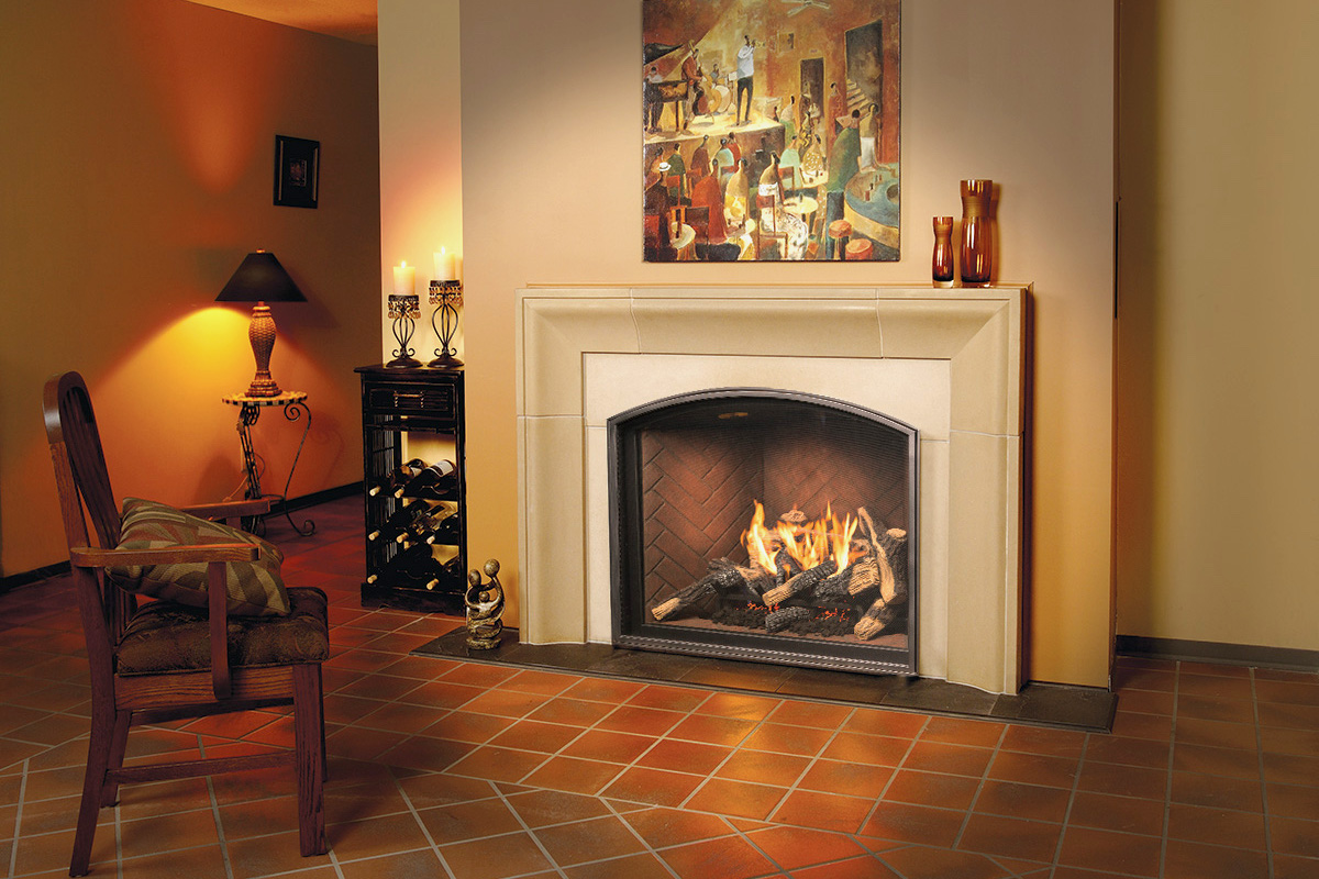 town u0026 country tc36 arch gas fireplace u2013 inseason fireplaces