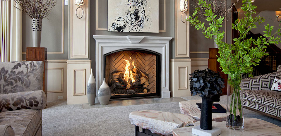 Town & Country TC36 Arch Gas Fireplace – InSeason Fireplaces ...
