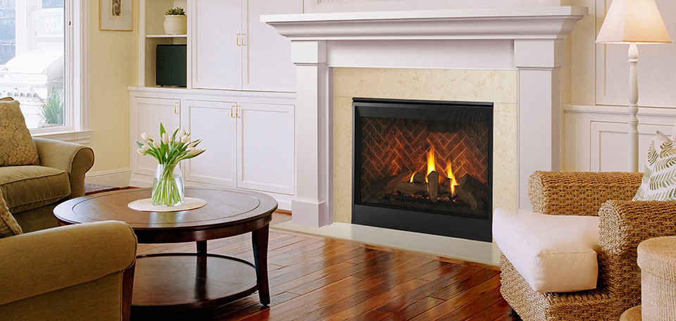 Majestic Meridian Series Direct Vent Gas Fireplaces Inseason