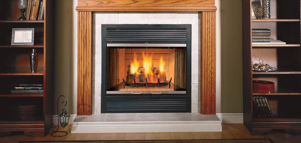 Majestic Sovereign Wood Burning Fireplace – InSeason