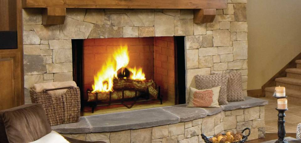 Majestic Biltmore Wood Burning Fireplace Inseason