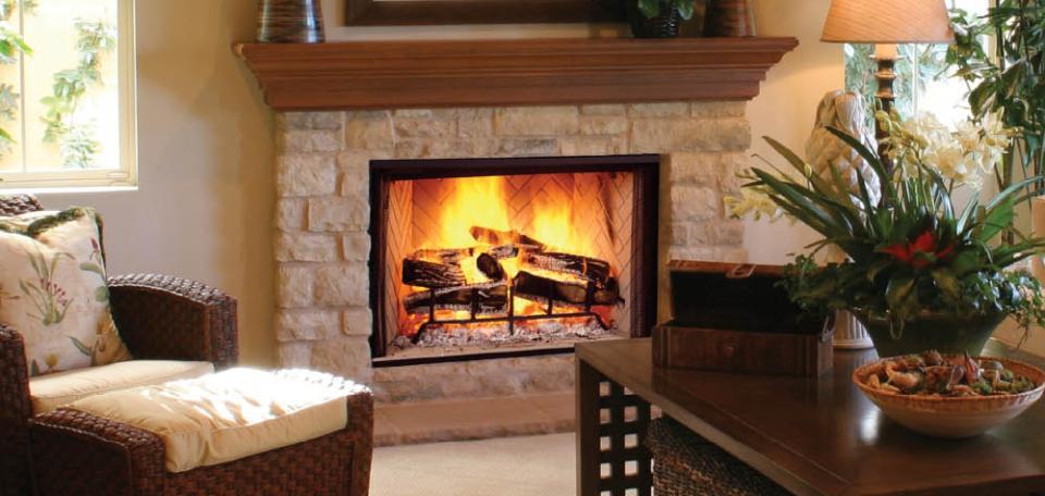 Majestic Biltmore Wood Burning Fireplace – InSeason