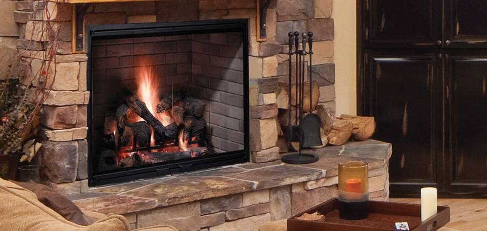 Majestic Biltmore Wood Burning Fireplace – InSeason
