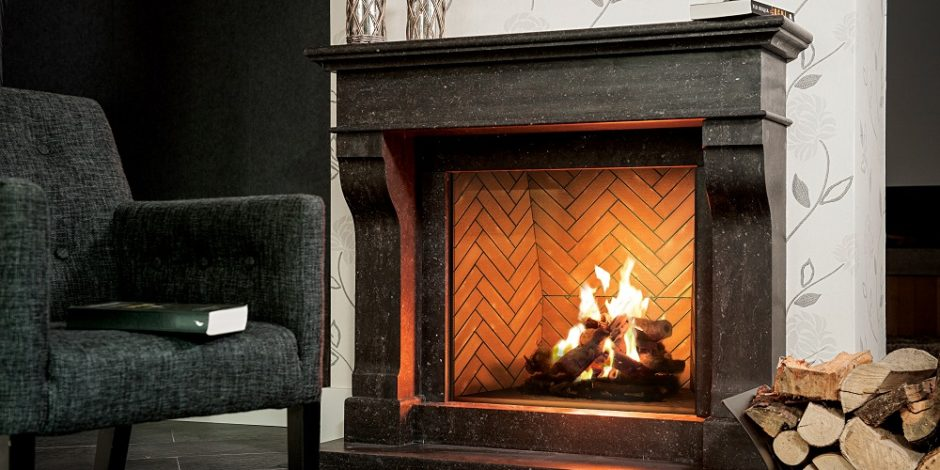 Ortal 110 Traditional Built In Direct Vent Gas Fireplace Inseason