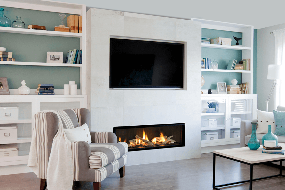 Valor L2 Linear Series Gas Fireplace Inseason Fireplaces