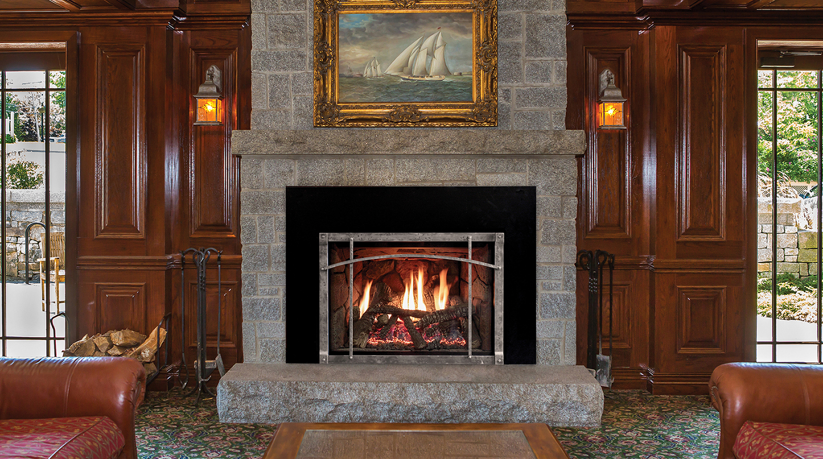 White Mountain Hearth Rushmore Gas Insert Inseason
